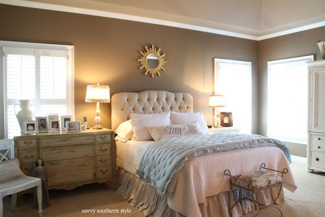 Savvy Southern Style The Master Bedroom Redecorating Pinterest