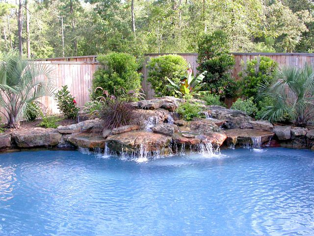 The Woodlands Signature Pools Texas Inground Pool Landscaping