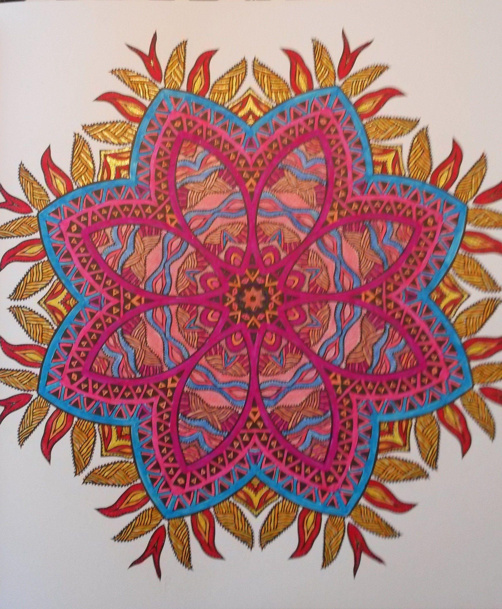 het 1e enige echte mandala kleurboek kleurboek