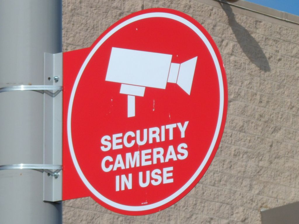 Security Cameras In Use Quot Sign Quot Signs Amp Displays Sign