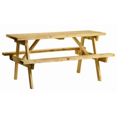 Adwood Manufacturing Ltd Picnic Table TAPT Home Depot Canada - Picnic table manufacturers