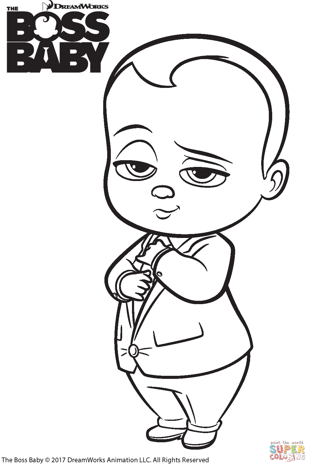 9 Awesome Boss Baby Colouring In 2021 Baby Coloring Pages Cartoon Coloring Pages Coloring Pages