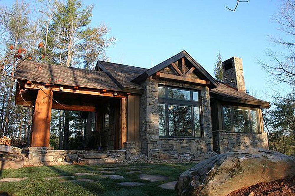 Plan 11529kn Weekend Mountain Escape Rustic House Plans Small Rustic House Cabin House Plans
