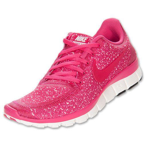 Womens Nike Free 5.0 V4 Zapatillas De Deporte Zapatos De Purpurina Rosa primera calidad Navegar aclaramiento descuento descuento grande UublO