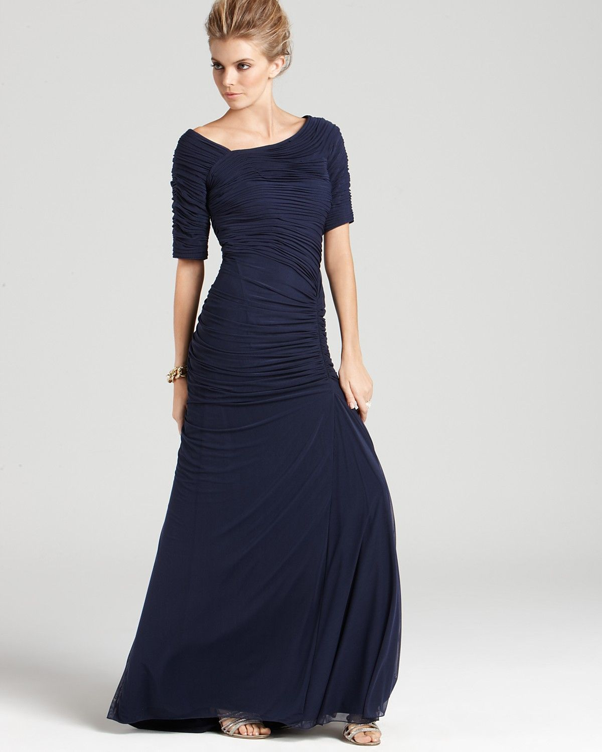 bloomingdale\'s+formal+evening+gowns | Tadashi Shoji Gown - Off-the ...