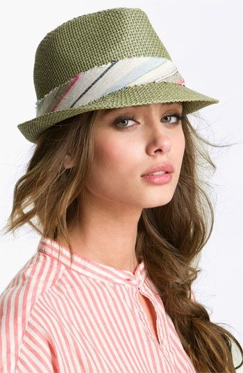 I'm awfully fond of hats. I have a paper straw fedora from Target that has a coral ribbon, which I have worn on several occasions.