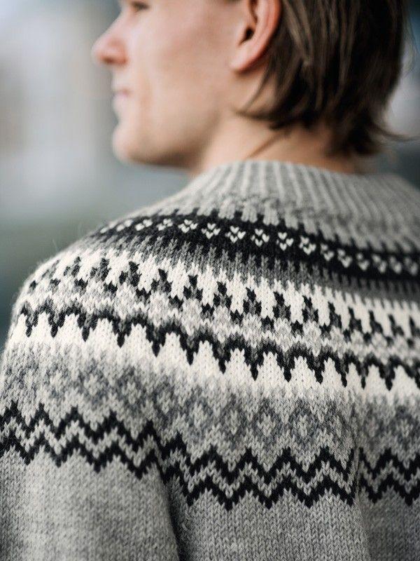 fef60023 Rundfelt herregenser S-XXL | Knitting & Garn | Genser, Strikk og ...