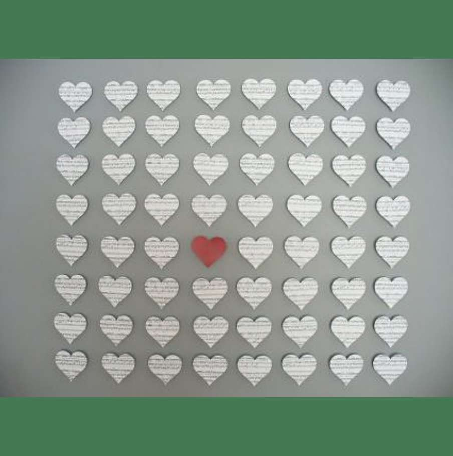 Diy Heart Wall Decor Party Planning Pinterest Wall Dcor