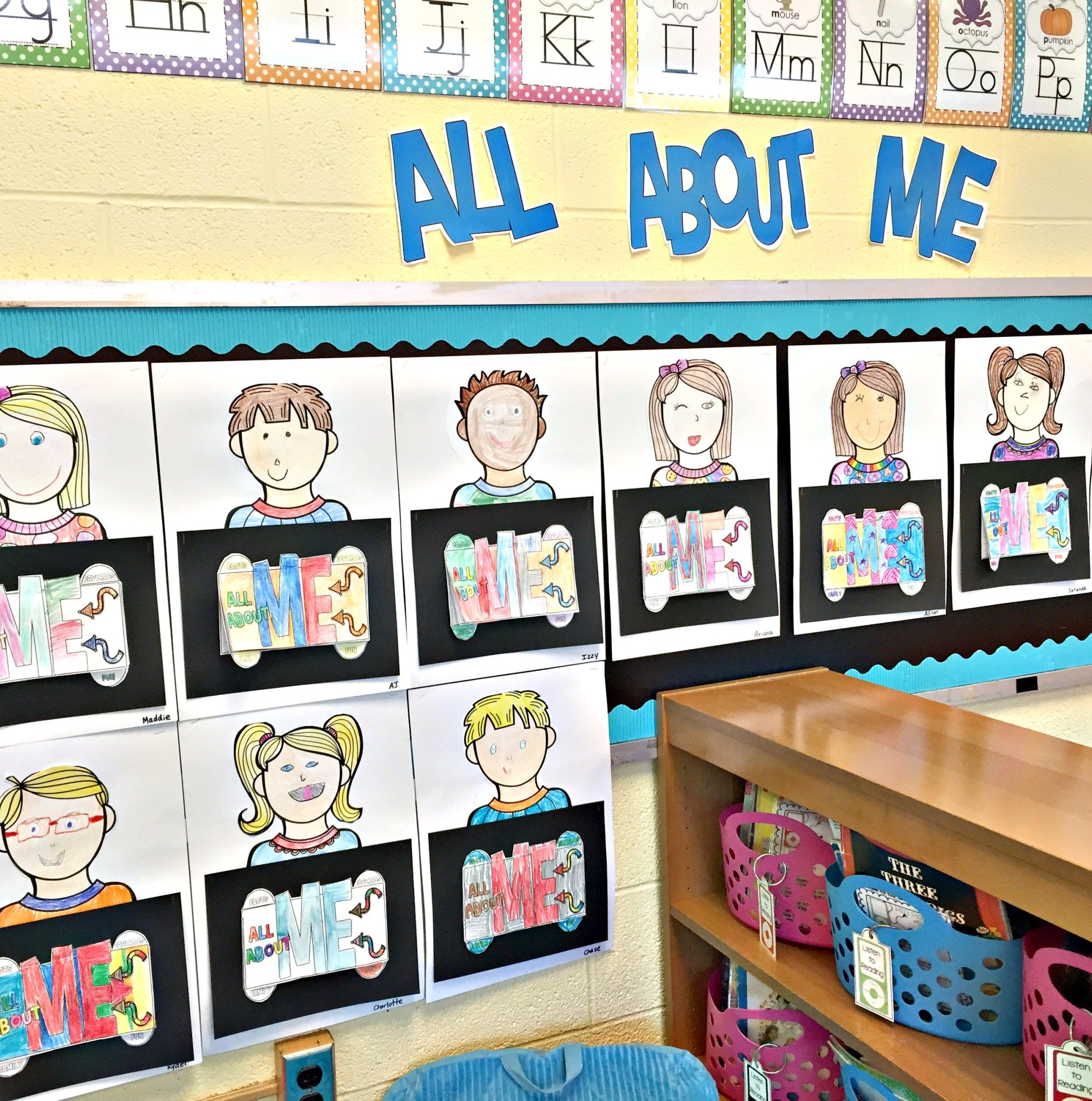 All About Me Project - Back To School