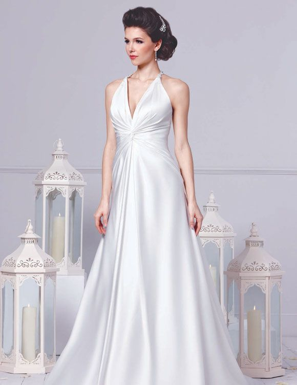 BILL LEVKOFF - STYLE 21244 Fabric: Soft Satin Colour: White or Ivory ...