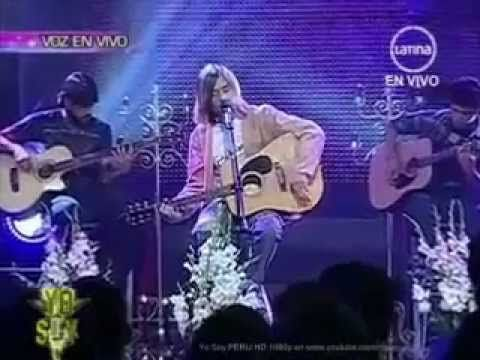 Yo me llamo Kurt Cobain 13-02-15 The Man Who Sold The World ( COLOMBIA) - YouTube