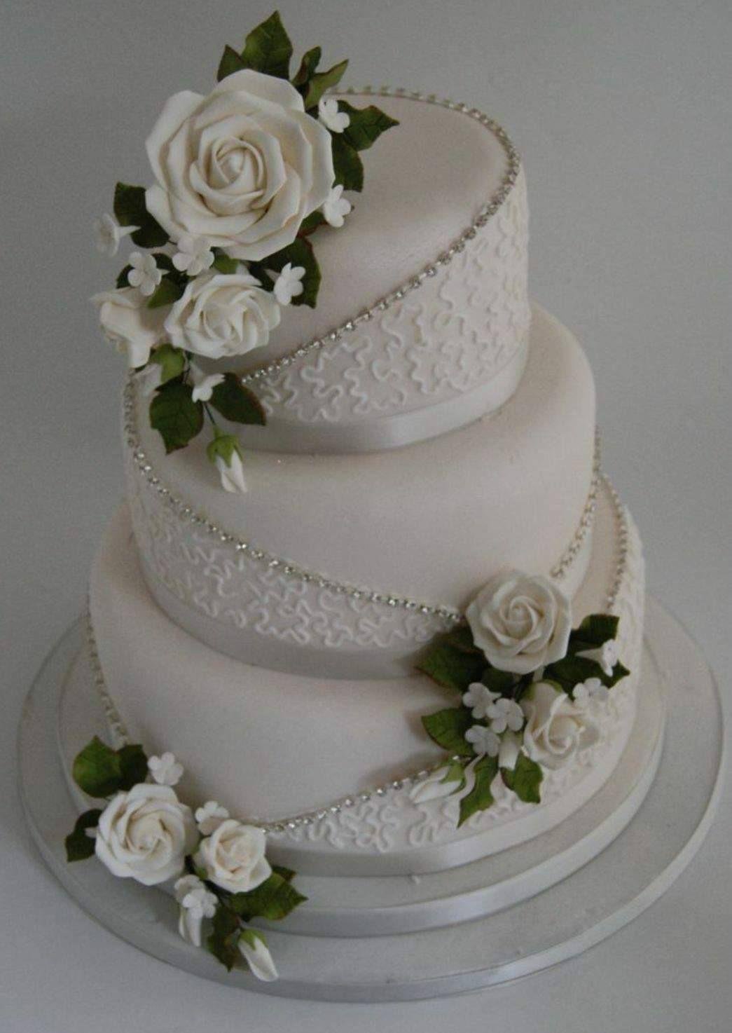 The chosen cake with red flowers cake weddingcake creamivory