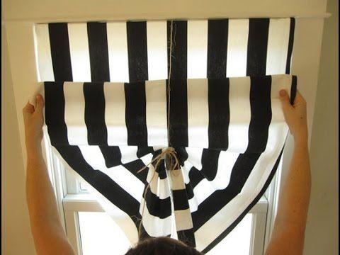 raffrollo selber machen newwonder555 youtube zuk nftige projekte pinterest n hen. Black Bedroom Furniture Sets. Home Design Ideas