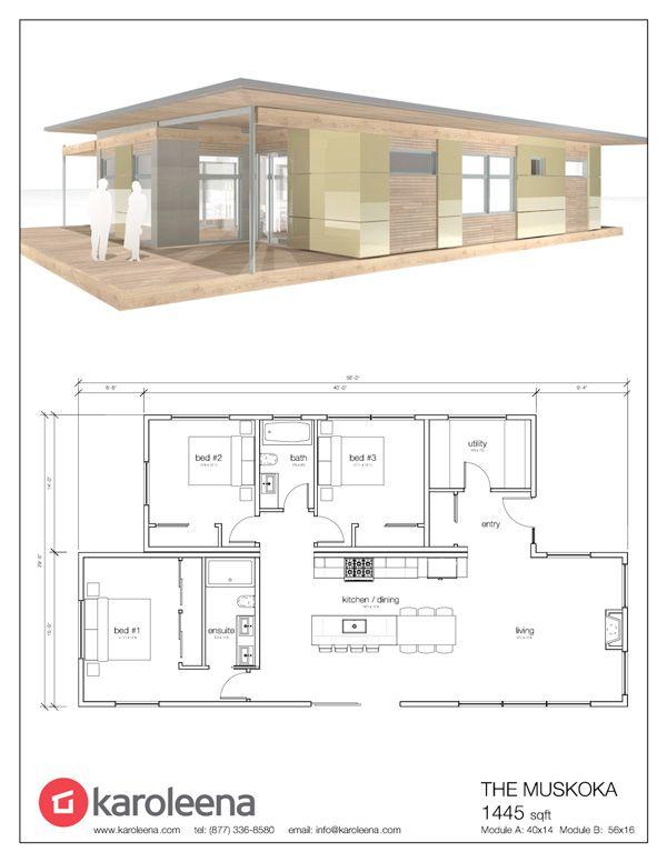 Signature Series - Karoleena Planimetrie Di Case Pinterest - plan petite maison plain pied