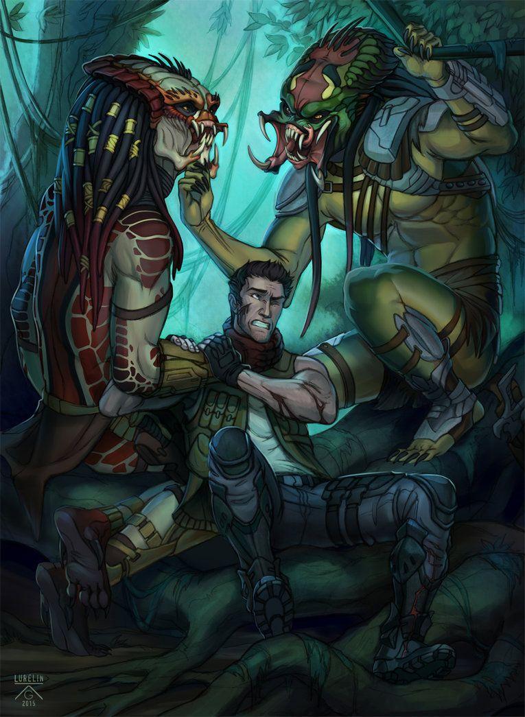 Share with me! by Lurelin | Predator artwork, Predator art