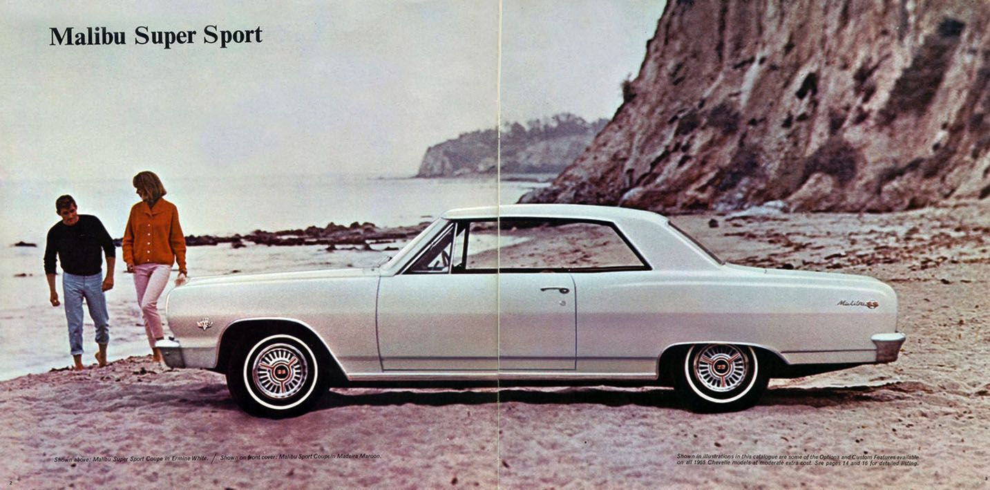 Pin On 1965 Chevelle Advertising