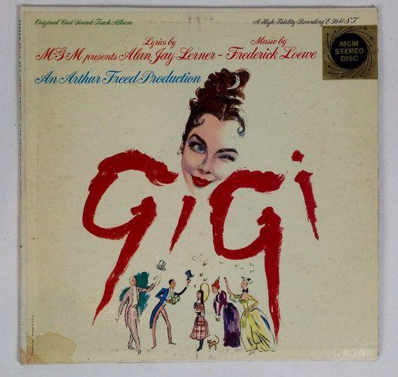 Gigi Original Cast Soundtrack Album Vintage By Gentlemanvinyl It Cast Originals Cast Vintage Vinyl Records