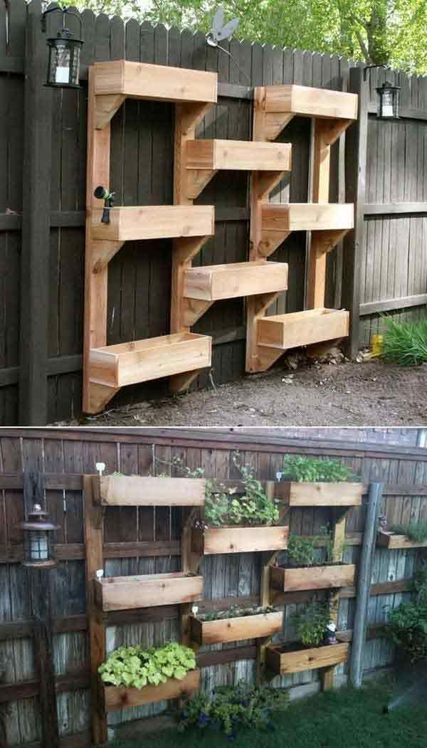 Info's : DIY | ideale ruimte voor de kruiden plantenbakken
