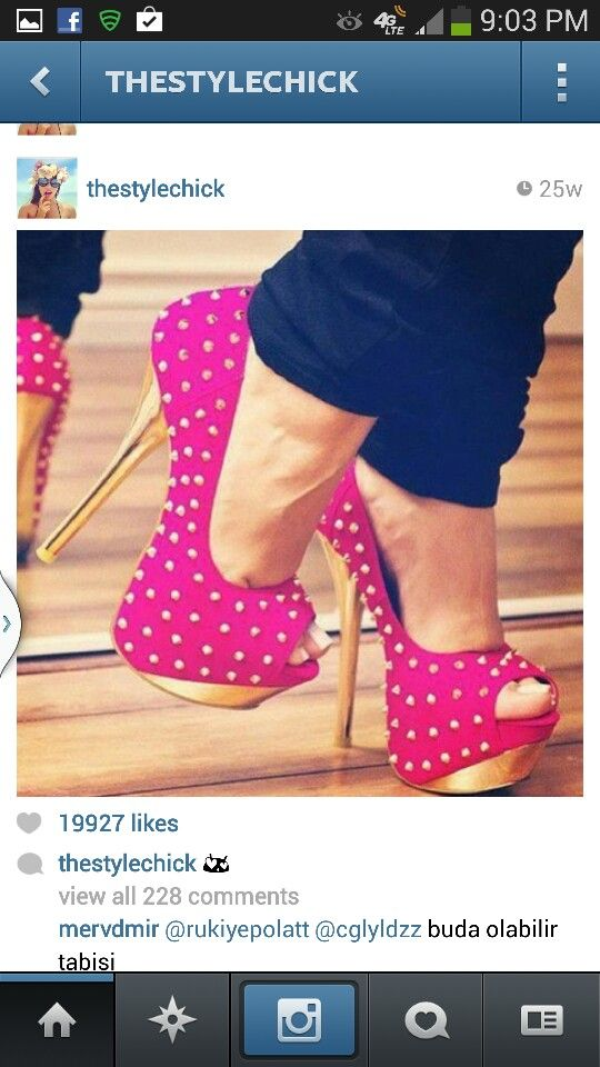 My two favs... Pink & Gold!!! | Shoes!! <3 | Pinterest