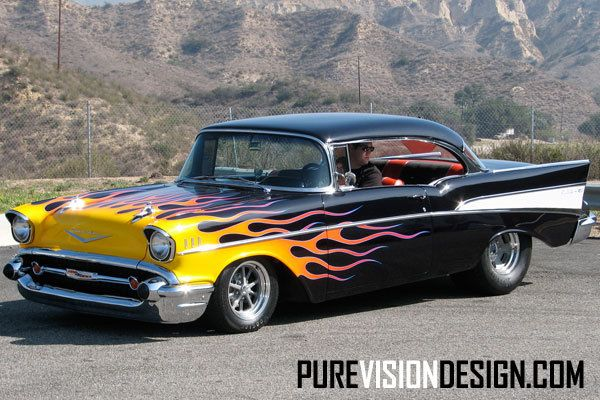 Hubgarage Com Hot Rod Timber Wolf 57 Chevy Photos Chevy