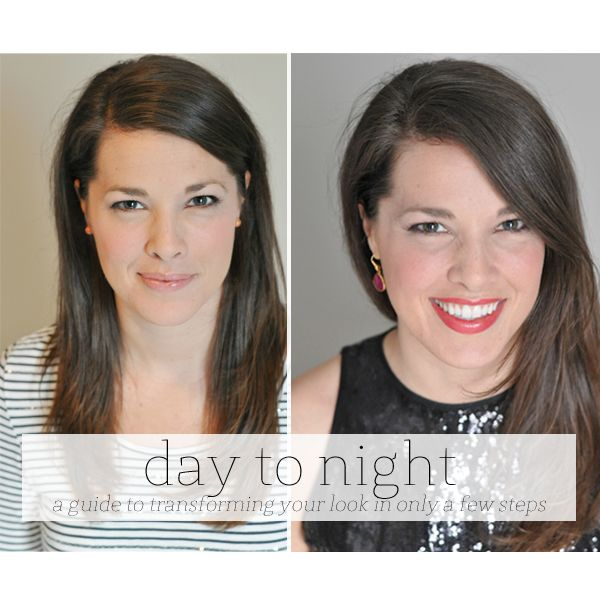 The Small Things Blog: a makeup tutorial : transition from day to night