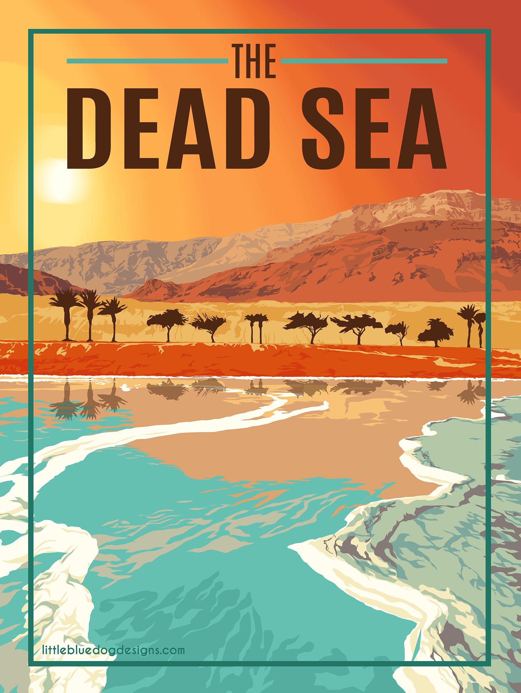 Dead Sea Israel Jordan