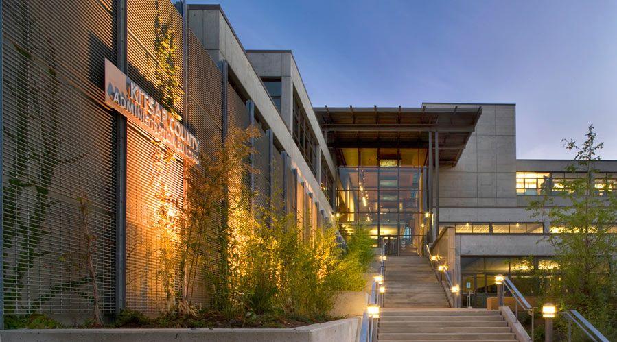 Miller hull kitsap county administration building commercial architecture pinterest - Maison davis miller hull partnership ...