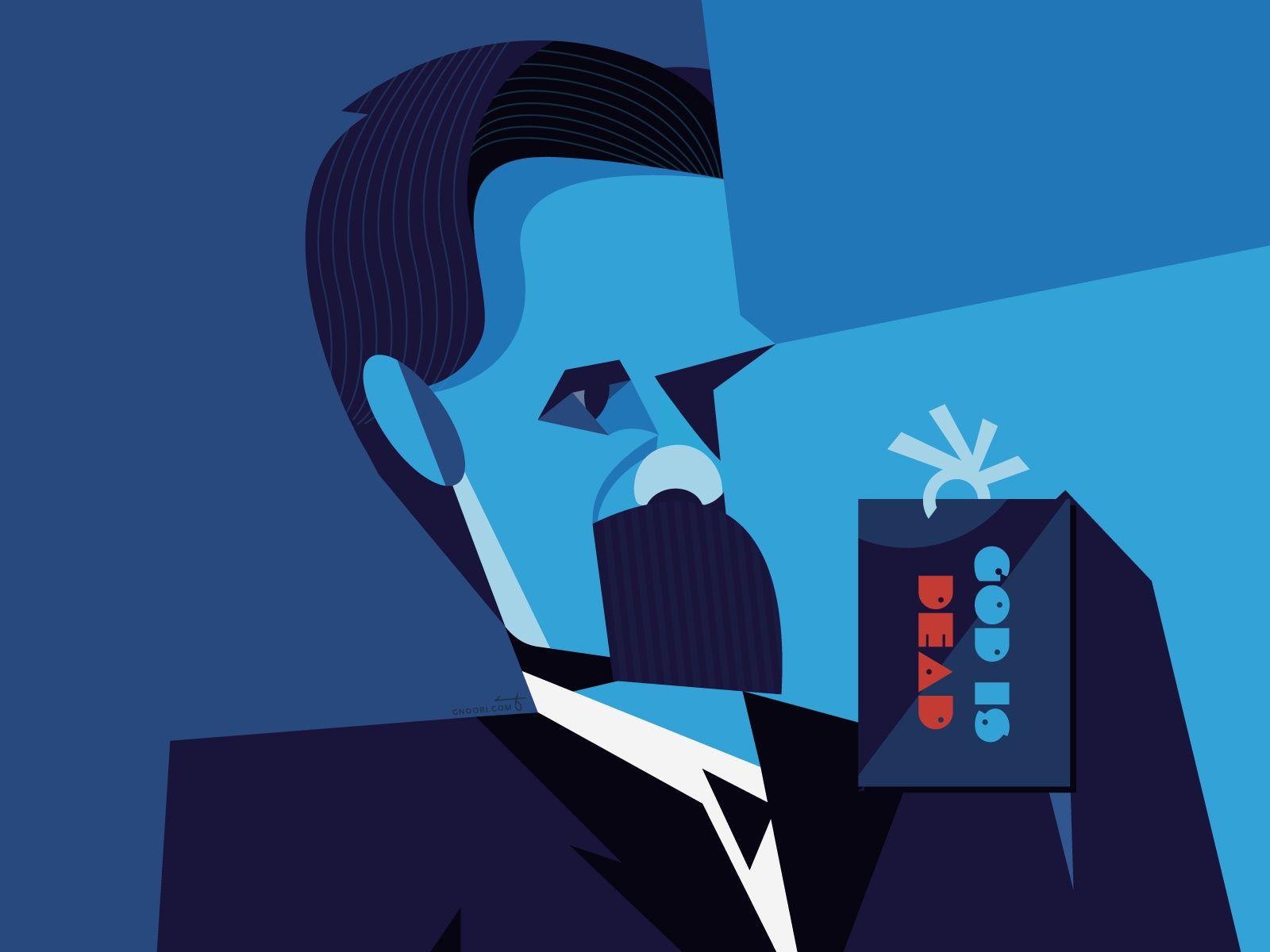 Friedrich Nietzsche Friedrich Nietzsche Geometric Portrait Nietzsche