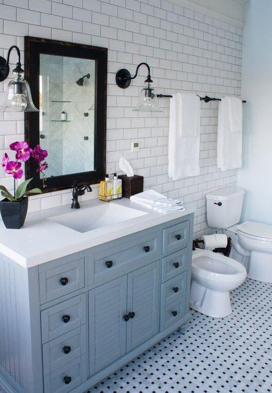 37 Light Blue Bathroom Floor Tiles Ideas And Pictures Master Bathroom Decor Light Blue Bathroom Bathroom Inspiration