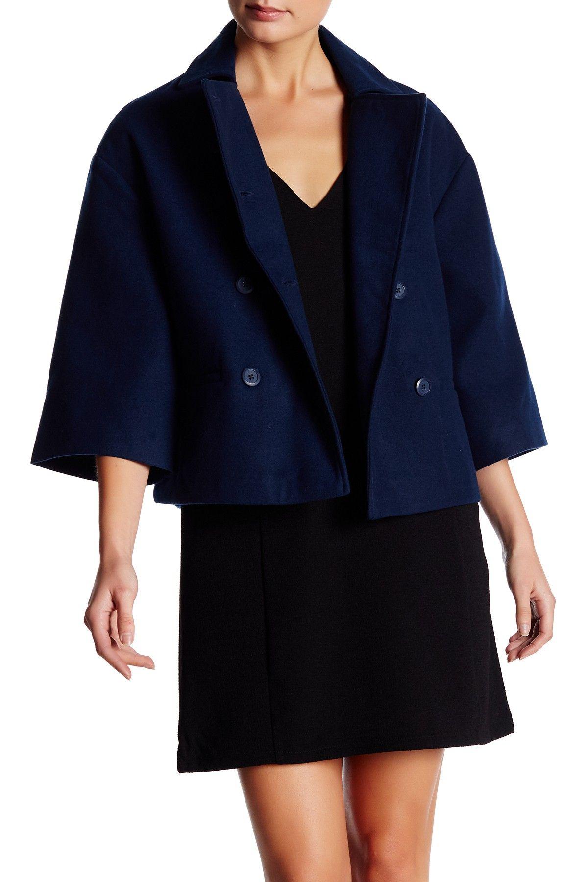 Reithe Brushed Woven Jacket