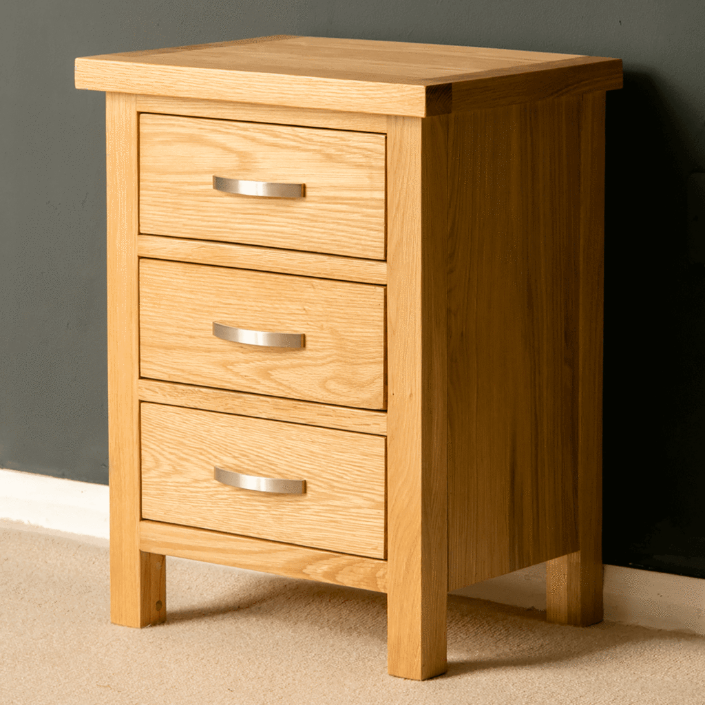 London Oak Bedside Table Oak Bedside Tables Oak Furniture