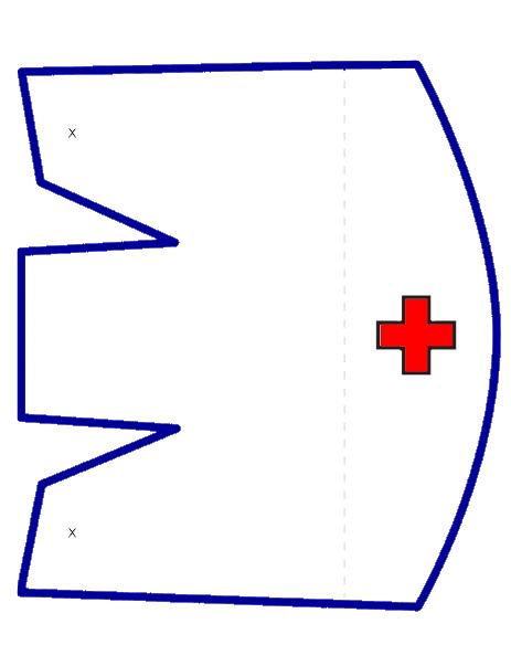 Nurse Hat Template Png 463 603 Nurse Hat Hat Template Nursing Cap