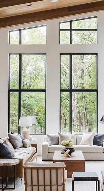 Beautiful high ceilings in this home designed by studio mcgee over images of stunning interiors also rh pinterest