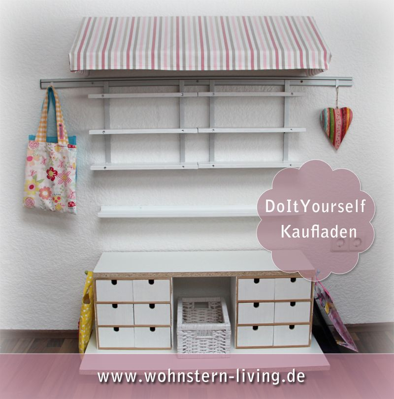 caro s fotografie design wohnen do it yourself kaufladen f r kinder bauen. Black Bedroom Furniture Sets. Home Design Ideas