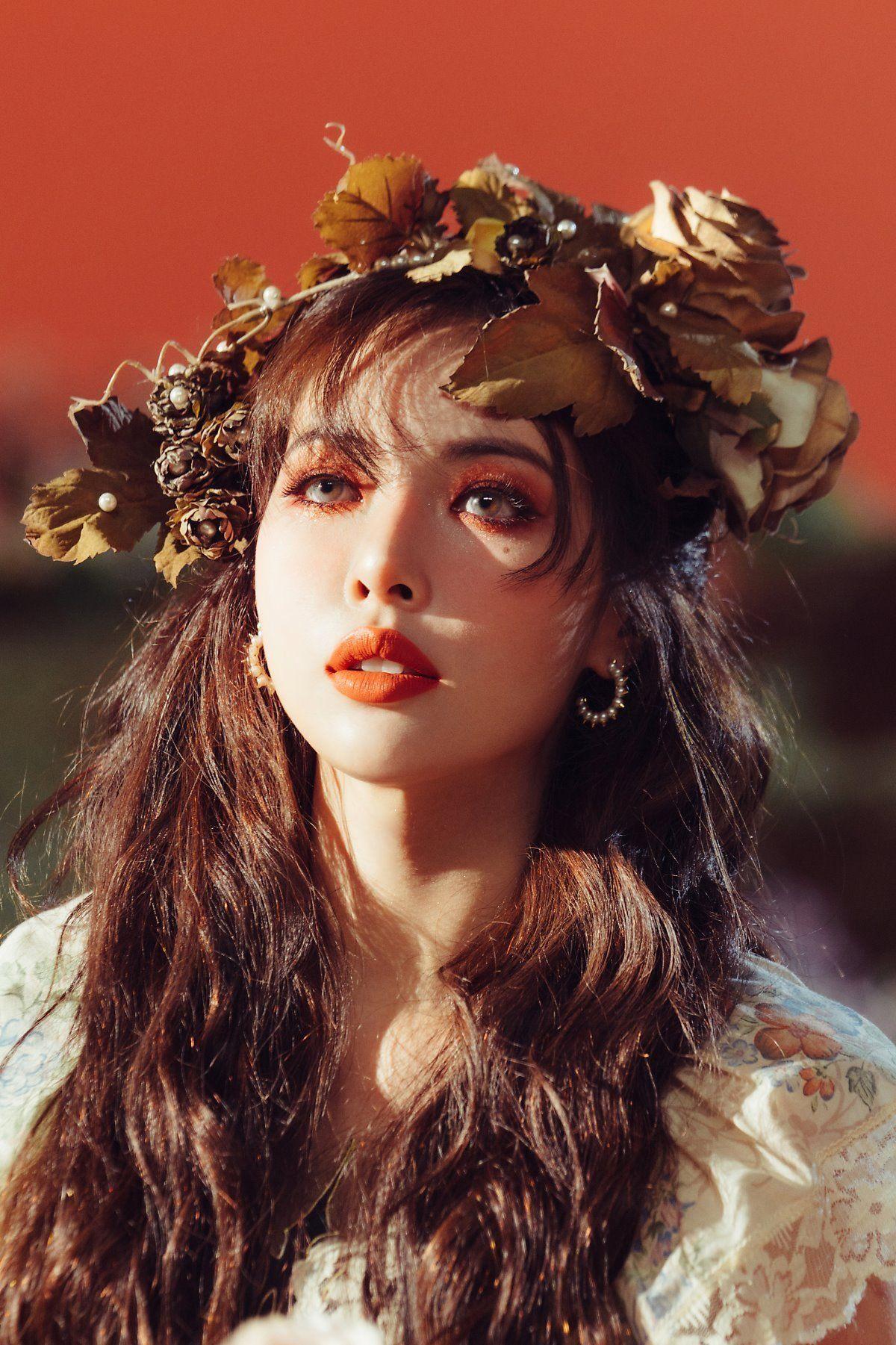 ' on in 2020 Flower shower, Hyuna kim, Kpop aesthetic
