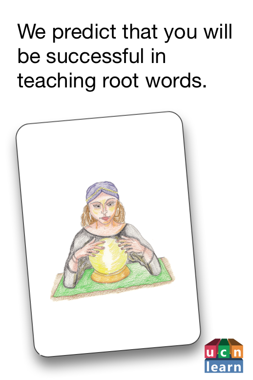 Root Word and Game Cards Part 1 Root words, Card games