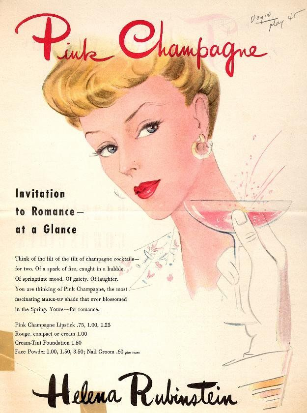 aed4a50ed67 Toast the New Year With the Women of Vintage Champagne Ads   Vintage ...