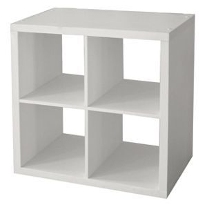 Clever Cube 2 X 2 White Ikea Furniture Hacks Ikea Kallax
