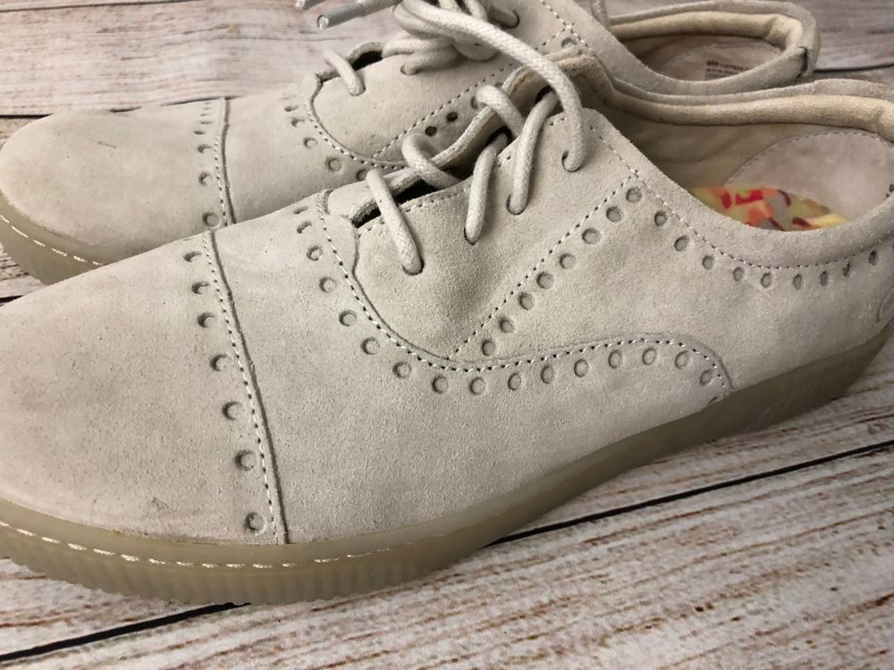 Born Womens Shoes Cymbal Suede Cap Toe