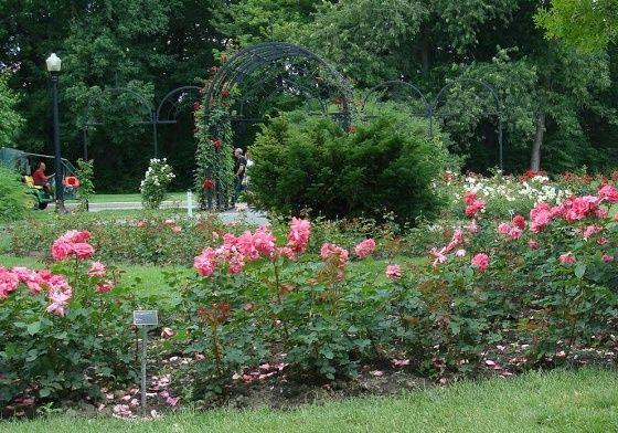 Delicieux New England Gardens | Elizabeth Park In Hartford, CT