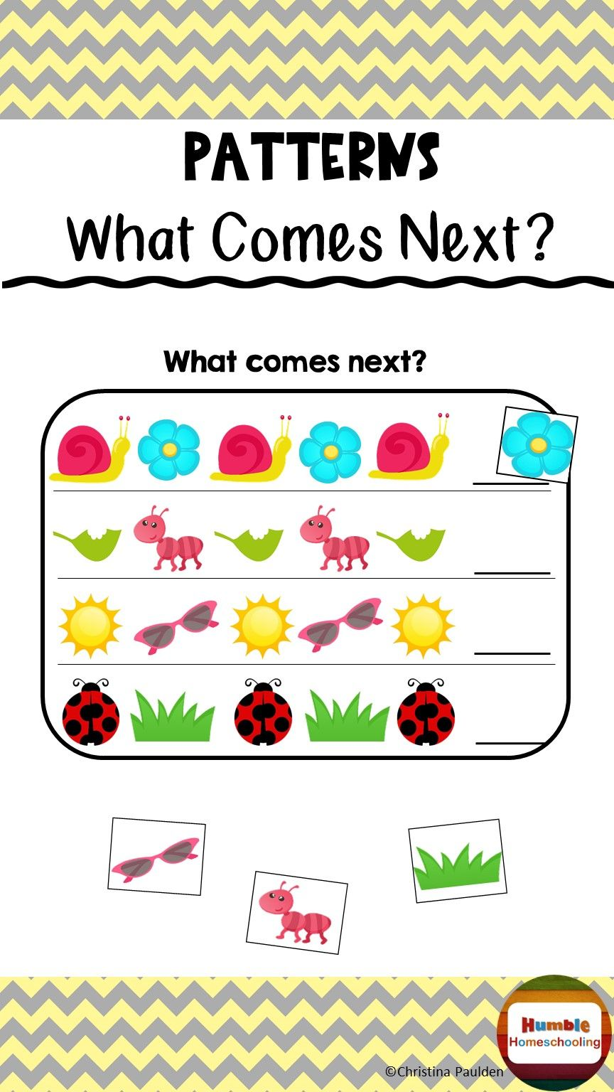 Pattern Worksheets Pattern Worksheet Pattern Patterned Sheets