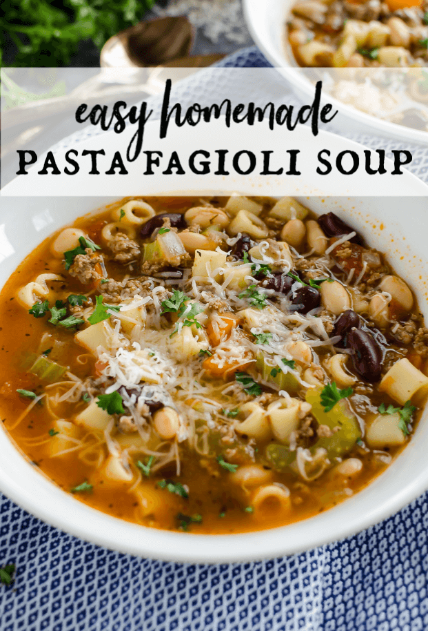 Looking for a bowl of hearty soup Look no further This Pasta Fagioli Soup is bursting with flavor Made with ground beef veggies pasta and beans its filling and delicious...