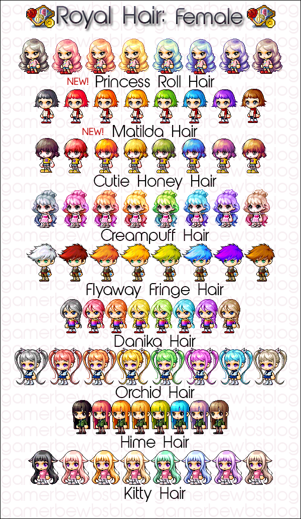 Gms Royal Hair And Face December 2013 Pixel Art Characters Pixel Art Face
