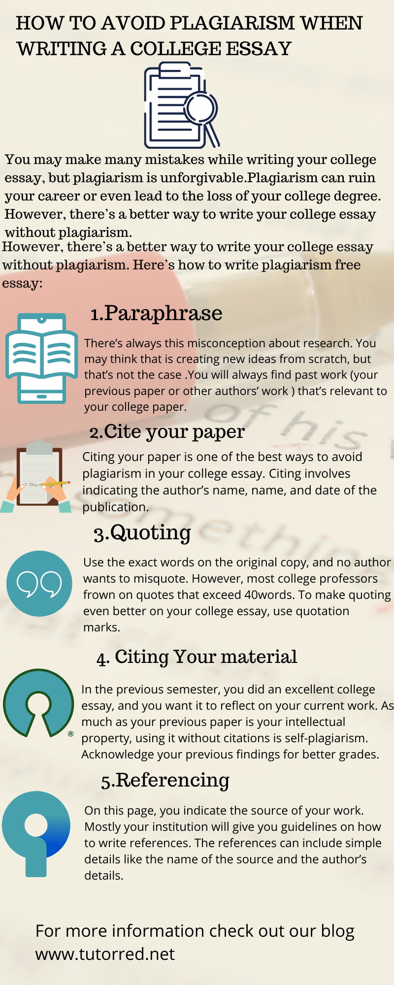 How To Avoid Plagiarism Checker Tip Essay Paraphrase Don T Plagiarize