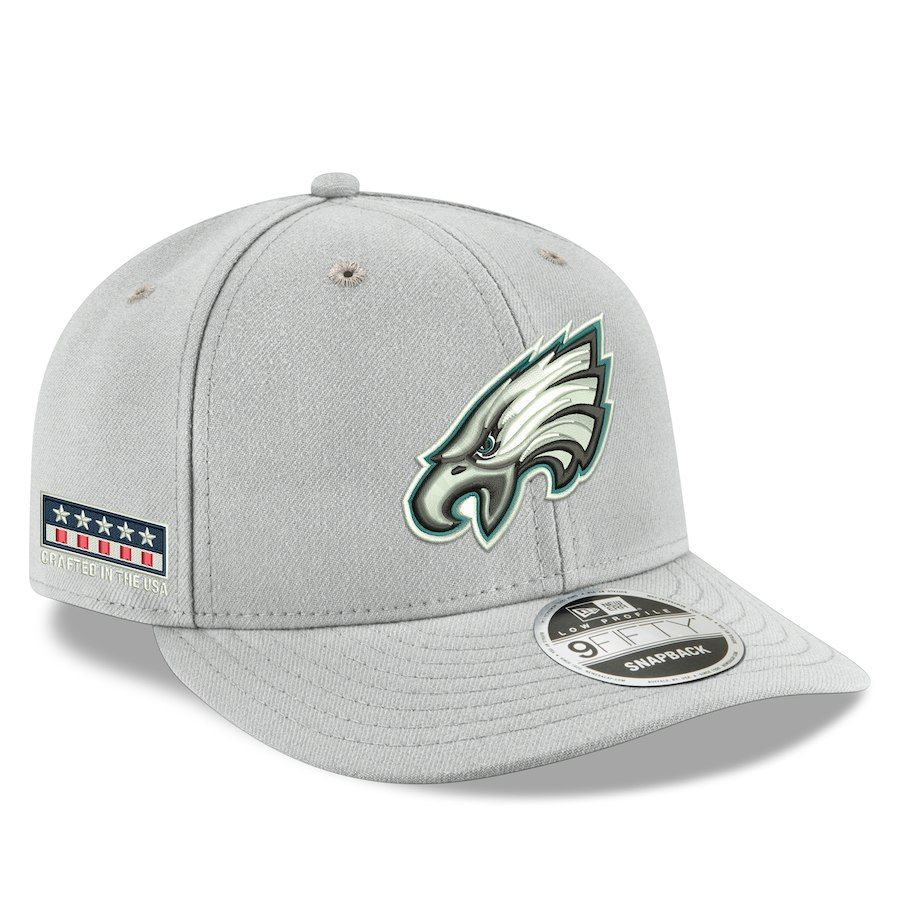 watch 19779 9293f Men s Philadelphia Eagles Nike Gray Crafted in the USA Low Profile 9FIFTY Adjustable  Snapback Hat, Your Price   35.99