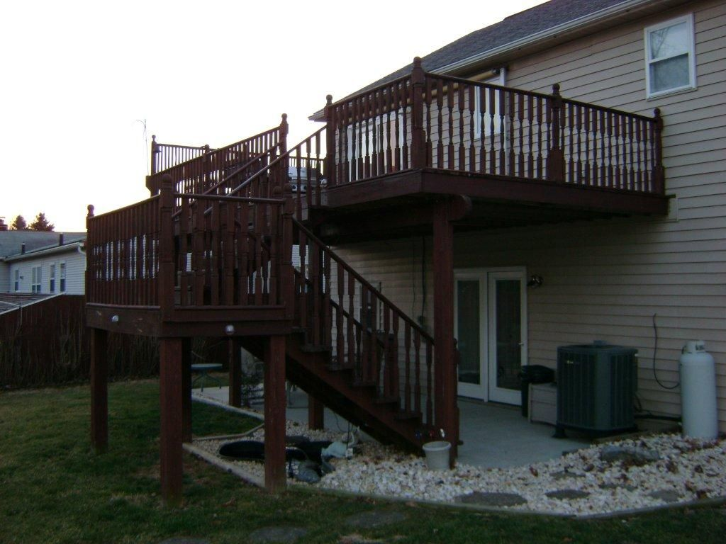 Deck Ideas For Bi Level Homes: Pin By Cindy Emond On House Ideas