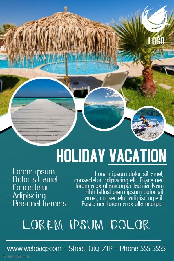 Vacation Flyer Design
