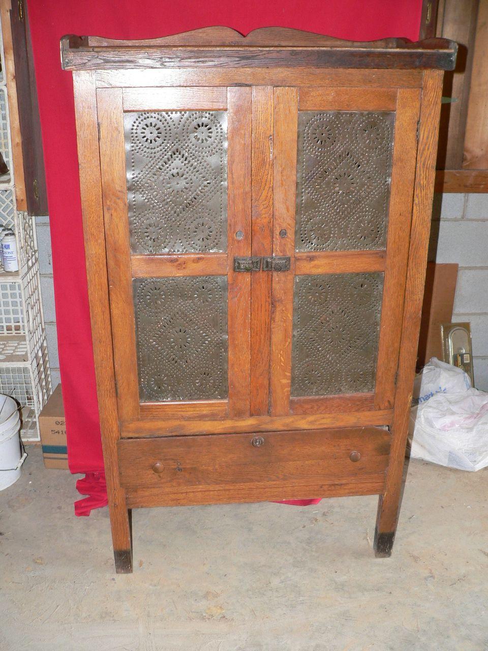 Antique Pie Safe Prices | Pie Safe - For Sale | Vintage kitchen ...