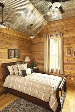 Decorating with Corrugated Tin | Bedroom Design Ideas, Pictures ...