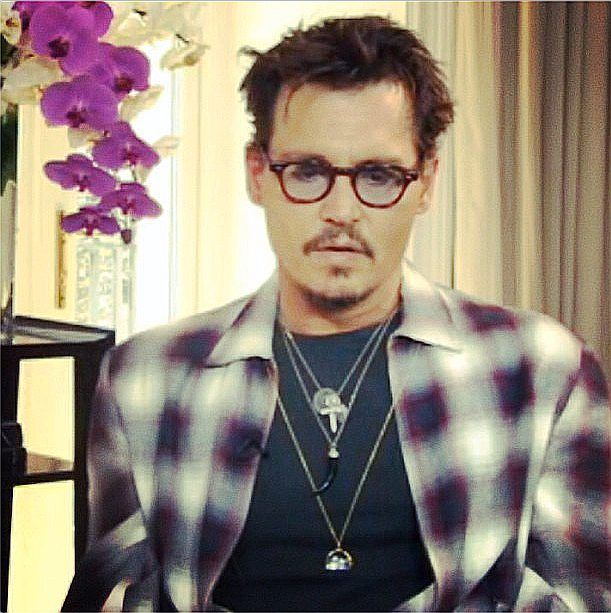 le rapport qualité prix hot-vente authentique design élégant Johnny Depp wears Loquet London   Celebrities   Loquet, How ...
